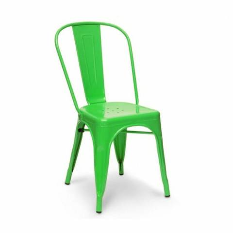 Tolix Lime Green Cafe Chair