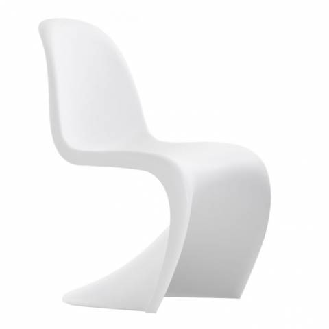 Verner Panton S Style Chair White