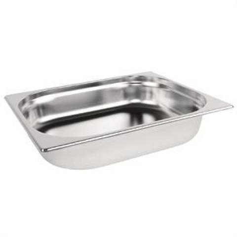Stainless Steel 1/2 Gastronorm Pan 65mm