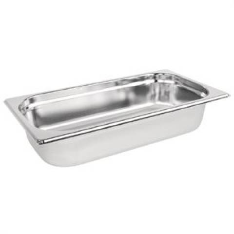 Stainless Steel 1/3 Gastronorm Pan 65mm