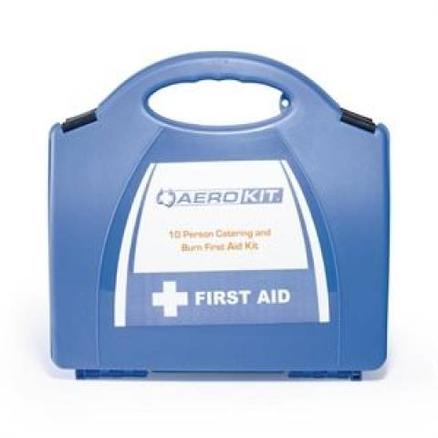 Catering First Aid and Burns Kit 10 Person