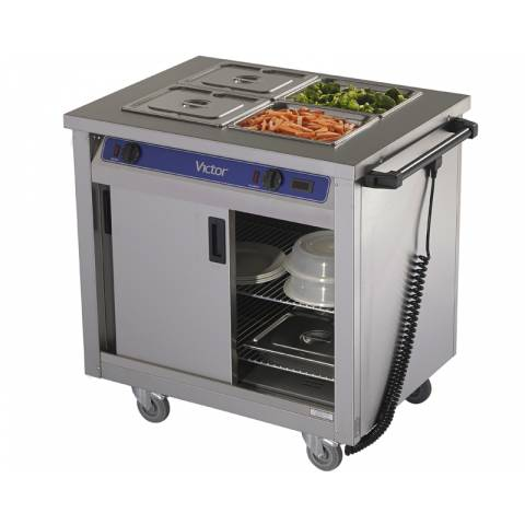Mobile Hot Cupboard - 2 Bains Marie