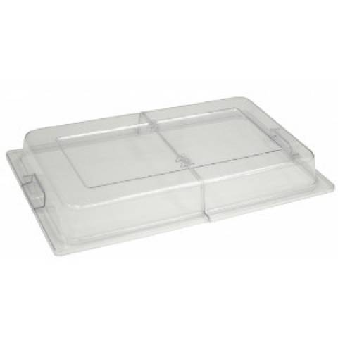 Polycarbonate Clear Hinged Lid For Chafing Dishes