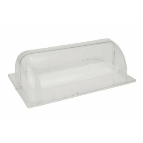 Polycarbonate Clear Roll Top Lid For Chafing Dish