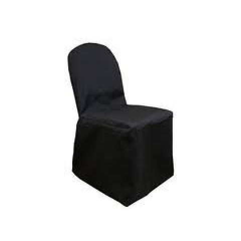 Black Banqueting Chair Cover