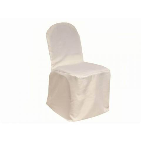 Ivory Banqueting Chair Cover