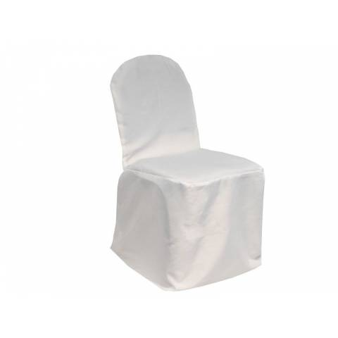 White Banqueting Chair Cover