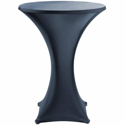 Black Stretch Tablecloth - For Poseur Tables