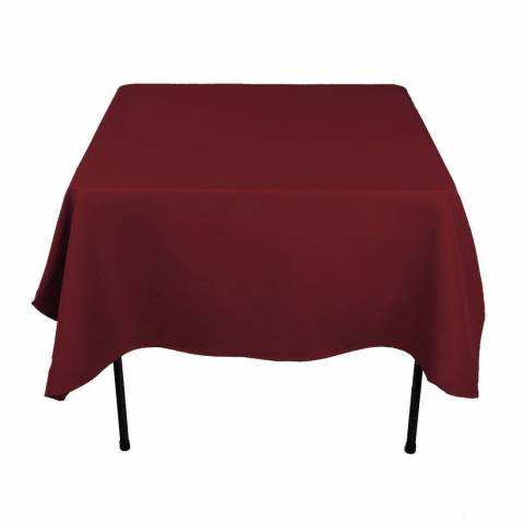 Square Banqueting Tablecloth 70