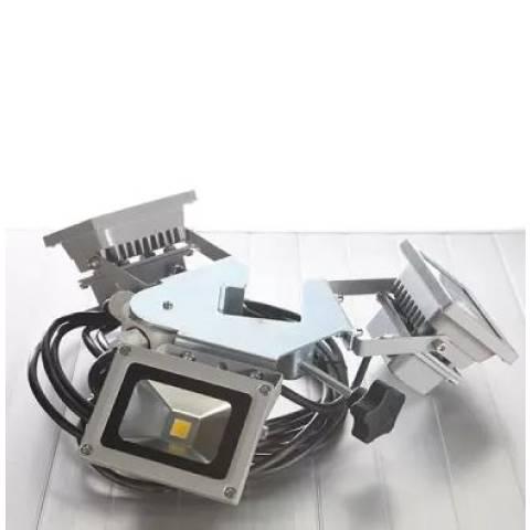 LED Mains Lighting for Gazebo